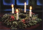 coroa do advento natal igreja catolica canto da paz ordem franciscana irmas clarissas