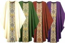 cores liturgicas casulas missa celebração