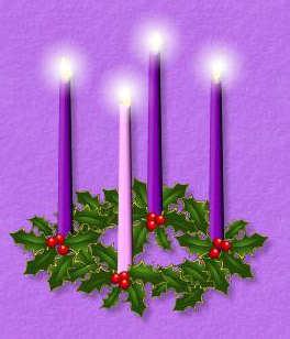 coroa advento natal velas celebracao missa domingo verde