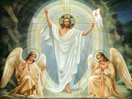 jesus cristo ressurreicao pascoa ovos chocolate presentes igreja catolica canto da paz