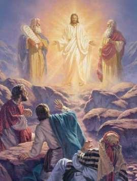 transfiguracao jesus monte igreja catolica canto da paz vida religiosa