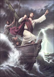 jesus tempestade mar pescadores evangelho comentado