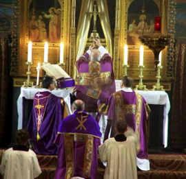 quaresma igreja catolica tempo liturgico missa canto da paz