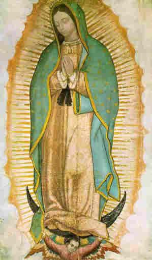 misterio nossa senhora guadalupe olhos manto tilma juan diego mexico milagre