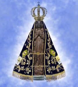 consagracao nossa senhora aparecida virgem maria igreja catolica jesus cristo santuario www.cantodapaz.com.br