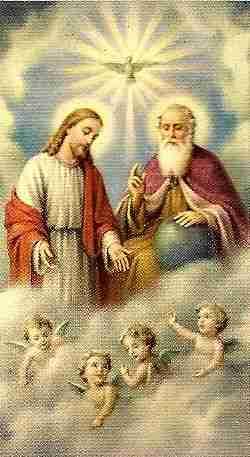 santissima trindade espirito santo jesus cristo deus pai igreja  catolica franciscanos