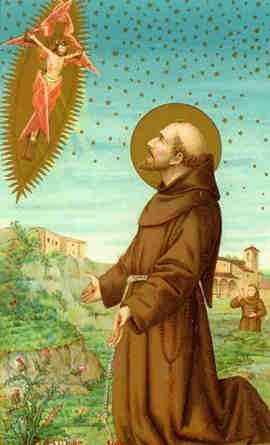 sao francisco chagas jesus cristo crucificado franciscanismo clarissas