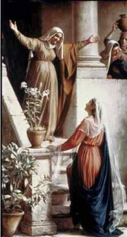 visita nossa senhora santa isabel visitacao igreja catolica canto da paz
